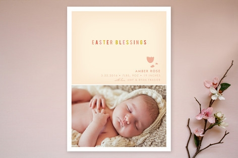 Blessings Easter Cards