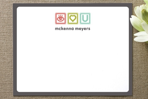 Blocks of Fun Business Stationery Cards