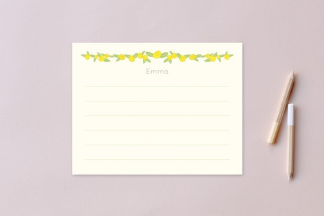 Bloomer Children's Personalized Stationery