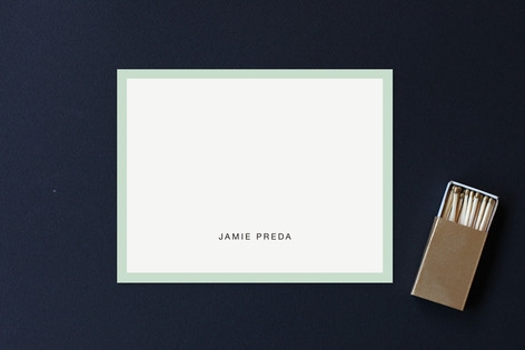 Bold Border Business Stationery Cards