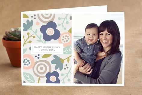 Bold Florals Mother's Day Greeting Cards