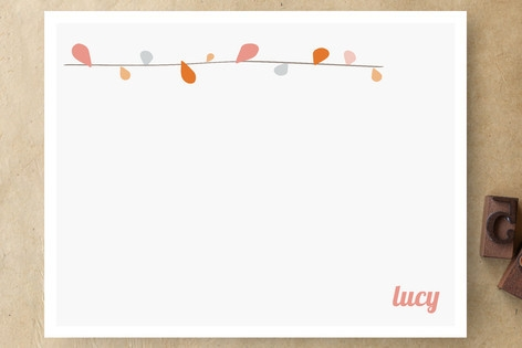 Branch Out Personalized Stationery by That Girl St...