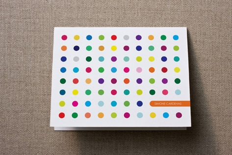 Candy Buttons Personalized Stationery by Cayce Cob...