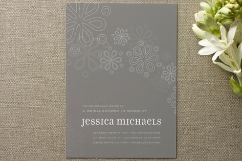 Cascading Shower Bridal Shower Invitations by gues...