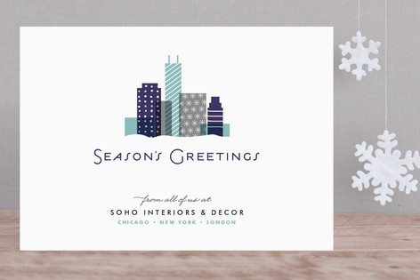 City Gift Business Holiday Cards