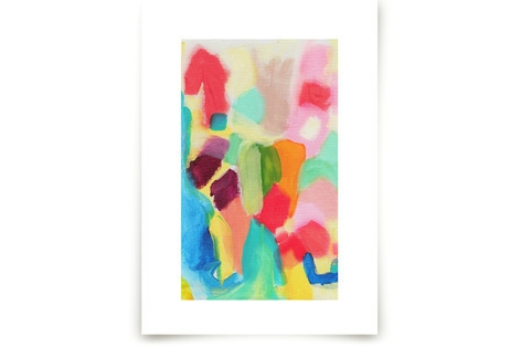Color Blocking Art Prints