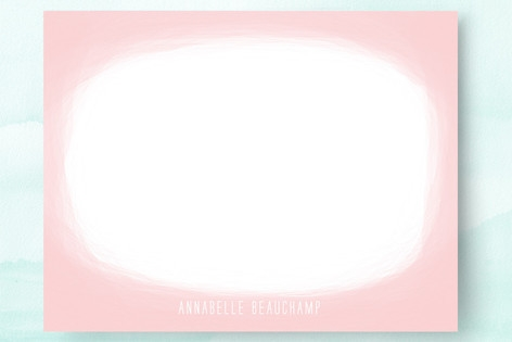 Cotton Candy Personalized Stationery by Kylie Holm...