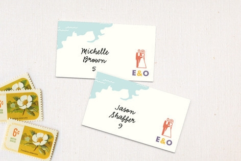 Destination Place Cards