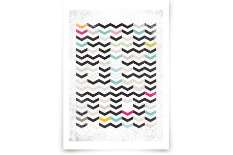 DIRTY CHEVRON Art Prints