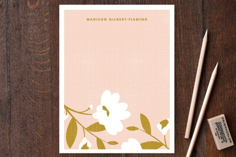 English Countryside Personalized Stationery by Kri...
