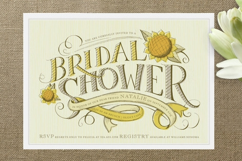 Farmers' Market Bridal Shower Invitations by potts...