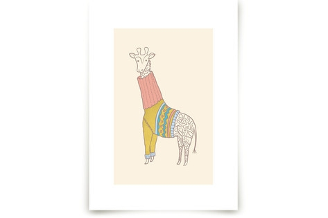 Fiesta Turtle Neck Art Prints