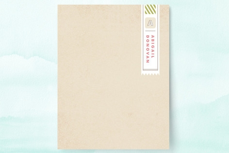 First Class Personalized Stationery by Jennifer Wi...