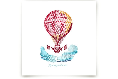 Fly Away With Me Art Prints