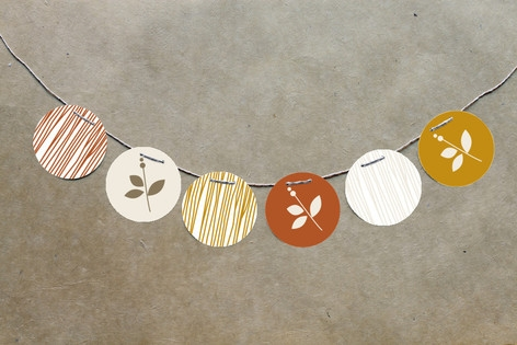 Foliage Thanksgiving Circle Garlands by The Occasi...