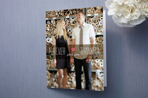 Forever Thankful Thank You Cards by Ana Gonzalez