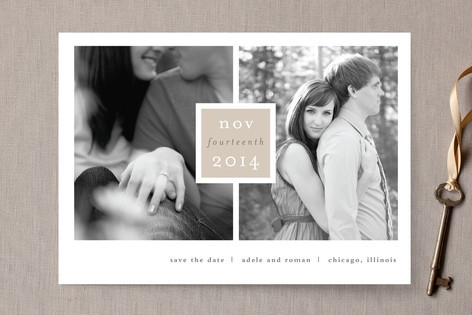 Frame Up Save the Date Cards by Stacey Meacham