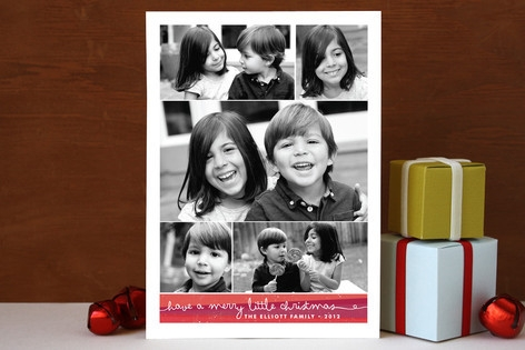 Gallery Grid Holiday Photo Cards