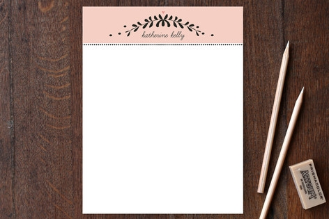 Garland Place Personalized Stationery by Susan