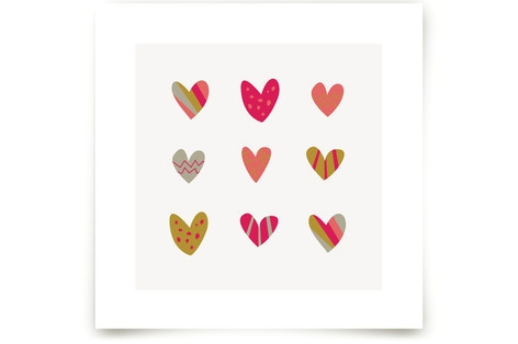 Heart Party Art Prints