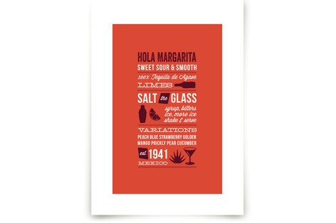 Hola Margarita Art Prints