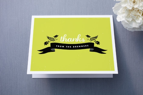 Home Sweet Home Thank You Cards by trbdesign