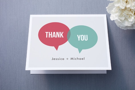 In Unison Thank You Cards by Katherine Moynagh