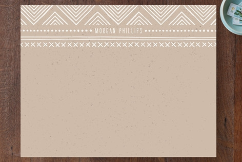 Indio Personalized Stationery by Amber Barkley