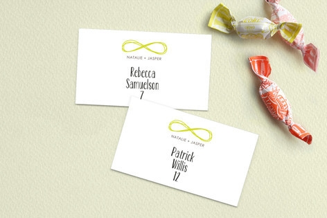 Infinite Place Cards