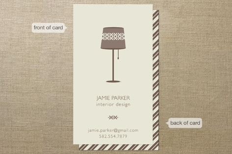 Interior Elegance Business Cards