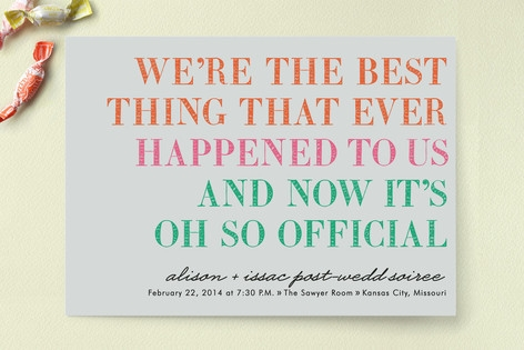 It's Oh So Official Save the Date Cards by hi-ligh...