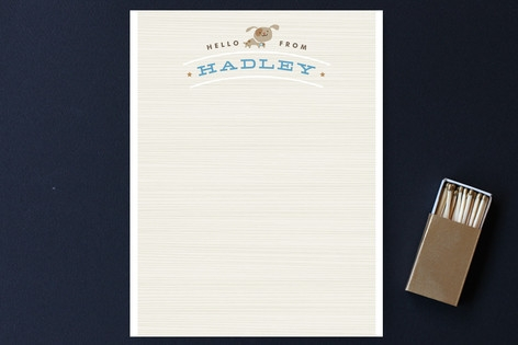 Jackson Children's Personalized Stationery