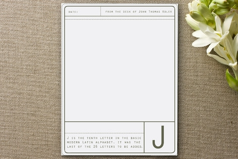 Limited Edition Personalized Stationery by OhSoSui...