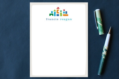 Little Builder Children's Personalized Stationery