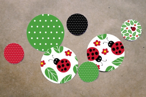 Little Ladybug Table Confetti by Kelly Nasuta