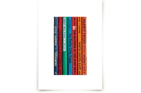 Little Skipper - Vintage Reading Series Art Prints