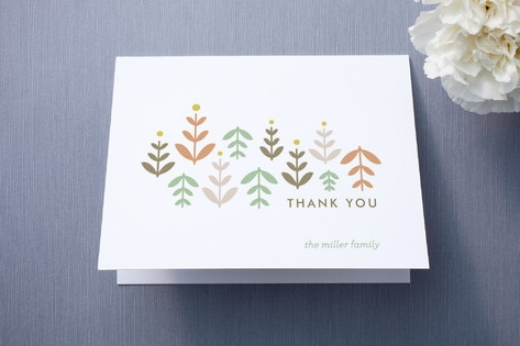 Little Sprouts Thank You Cards by Lisa Nelson