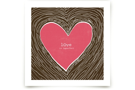 Love Is Imperfect Art Prints