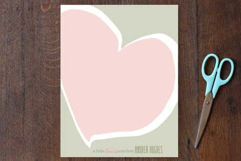 Love Notes Personalized Stationery by Carol Fazio