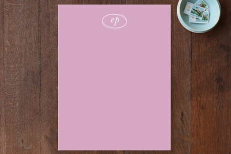 lumiere Personalized Stationery by beth perry DESI...
