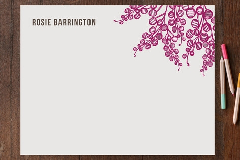 Marais Personalized Stationery by beth perry DESIG...