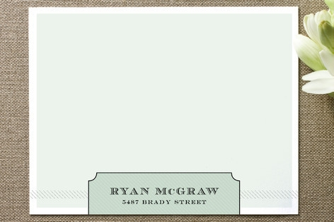 mcgraw Personalized Stationery by Paper Plains