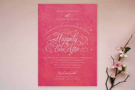 Ever After Wedding Invitations by Jill Means