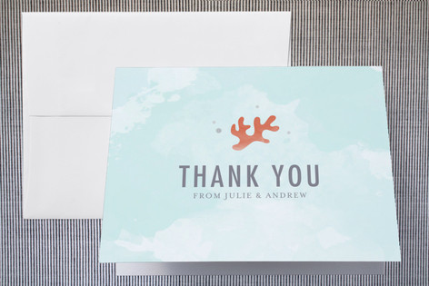 The Shore Thank You Cards by Kristen Smith