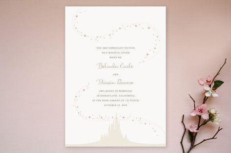 Enchanted Stars Wedding Invitations by Jody Wody