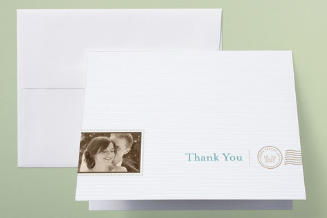 The Seasonal Send-Off Thank You Cards by bumble in...