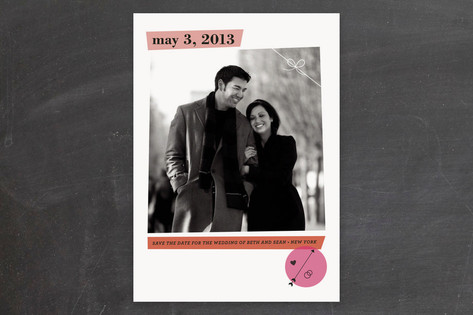 Glam Save the Date Cards by nocciola design