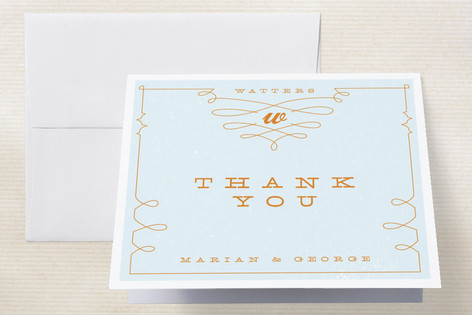 Mr. Watters Thank You Cards by Moglea
