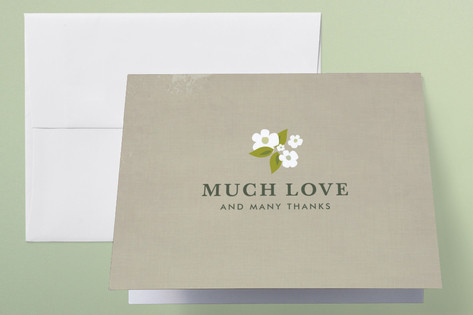 French Bliss Thank You Cards by Kayla Grunder