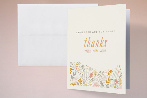 The Grainfield Thank You Cards by Moglea